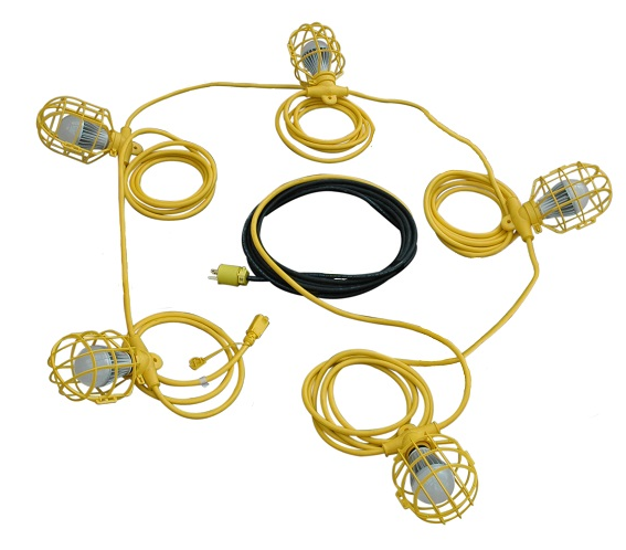 Temporary Construction LED String Lights Released by Larson Electronics CoatingsPro Magazine