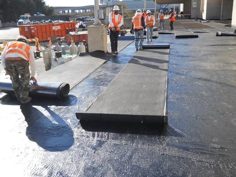 Concrete Coating Rodeo At The Dallas Convention Center
