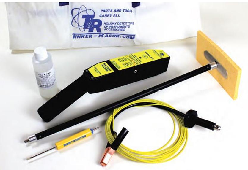Wet Sponge Holiday Detector For Thin Film Testing