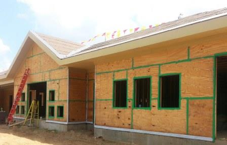 This General Purpose, Wet Flashing Membrane Is Used To Seal Rough Openings  And Detail Joints Between Exterior Gypsum Board. AIR SHIELD LIQUID FLASHING  Is ...
