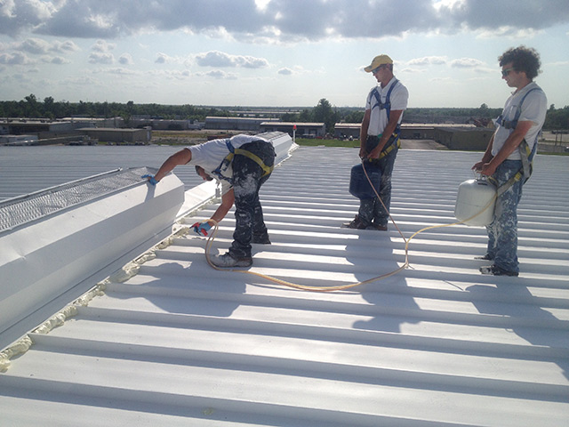 High Profile, Winds, and Reflectivity: Green Coatings on New Orleans  Airport Roof | CoatingsPro Magazine
